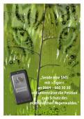 Print-Anzeige  # 344644 für Greenpeace Plakat-Wettbewerb 2014: Sujet für Plakat Kampagne zum Schutz des Sumatra Tigers Wettbewerb