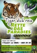 Print ad # 343557 for Greenpeace Poster contest 2014: Campaign for the protection of the Sumatra Tiger contest