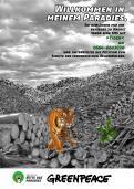 Print-Anzeige  # 345870 für Greenpeace Plakat-Wettbewerb 2014: Sujet für Plakat Kampagne zum Schutz des Sumatra Tigers Wettbewerb
