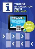 Advertentie, Print # 280517 voor Toerisme Informatie Punt op hangbord voor in restaurants,winkels voorzien van IPAD wedstrijd