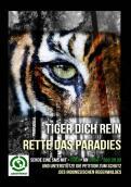 Print-Anzeige  # 343382 für Greenpeace Plakat-Wettbewerb 2014: Sujet für Plakat Kampagne zum Schutz des Sumatra Tigers Wettbewerb