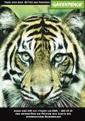 Print ad # 343230 for Greenpeace Poster contest 2014: Campaign for the protection of the Sumatra Tiger contest