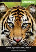 Print-Anzeige  # 343231 für Greenpeace Plakat-Wettbewerb 2014: Sujet für Plakat Kampagne zum Schutz des Sumatra Tigers Wettbewerb