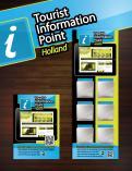 Advertentie, Print # 280493 voor Toerisme Informatie Punt op hangbord voor in restaurants,winkels voorzien van IPAD wedstrijd