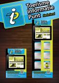 Advertentie, Print # 280665 voor Toerisme Informatie Punt op hangbord voor in restaurants,winkels voorzien van IPAD wedstrijd