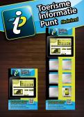 Advertentie, Print # 282685 voor Toerisme Informatie Punt op hangbord voor in restaurants,winkels voorzien van IPAD wedstrijd