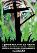 Print-Anzeige  # 347236 für Greenpeace Plakat-Wettbewerb 2014: Sujet für Plakat Kampagne zum Schutz des Sumatra Tigers Wettbewerb