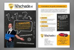 Advertentie, Print # 383640 voor A5 kaart voor direct mail actie ontwerpen wedstrijd