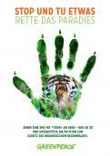 Print-Anzeige  # 344808 für Greenpeace Plakat-Wettbewerb 2014: Sujet für Plakat Kampagne zum Schutz des Sumatra Tigers Wettbewerb