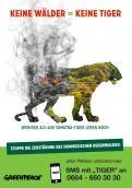 Print-Anzeige  # 348861 für Greenpeace Plakat-Wettbewerb 2014: Sujet für Plakat Kampagne zum Schutz des Sumatra Tigers Wettbewerb