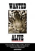 Print-Anzeige  # 347007 für Greenpeace Plakat-Wettbewerb 2014: Sujet für Plakat Kampagne zum Schutz des Sumatra Tigers Wettbewerb
