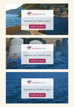 Advertentie, Print # 299371 voor Banner voor wijnimportbedrijf wedstrijd