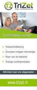 Advertentie, Print # 465605 voor 2 Banners voor Stichting Trizet wedstrijd