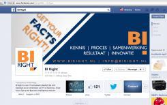 Banner # 331023 voor BI Right! op FB wedstrijd
