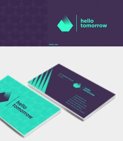 Design the new logo and business card for the biggest sciencetech one moment please colourmoves