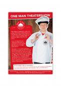 Flyer # 1133819 voor Flyer en poster ontwerp voor Visuele komedie show wedstrijd