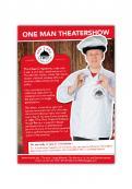 Flyer # 1133822 voor Flyer en poster ontwerp voor Visuele komedie show wedstrijd