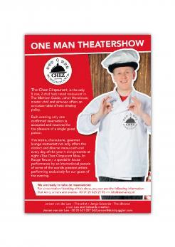Flyer # 1133676 voor Flyer en poster ontwerp voor Visuele komedie show wedstrijd