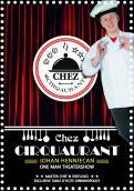 Flyer # 1134321 voor Flyer en poster ontwerp voor Visuele komedie show wedstrijd