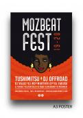 Flyer, tickets # 1010527 for MozBeat Fest 2019 2020 contest