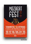 Flyer, tickets # 1010528 for MozBeat Fest 2019 2020 contest