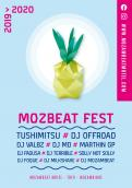 Flyer, tickets # 1014226 for MozBeat Fest 2019 2020 contest