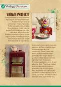 Flyer # 355673 voor Ontwerp een brochure voor een Vintage Lifestyle winkel wedstrijd