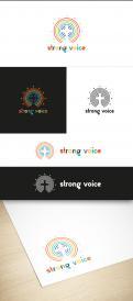 Logo # 1105132 voor Ontwerp logo Europese conferentie van christelijke LHBTI organisaties thema  'Strong Voices' wedstrijd