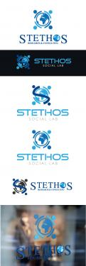Logo design # 928953 for logo of the new company: Stethos Social Lab ( new subsidiary of Stethos Group) contest