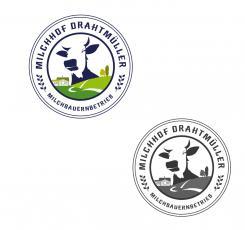 Logo  # 1084690 für Milchbauer lasst Kase produzieren   Selbstvermarktung Wettbewerb