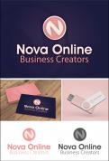 Logo # 984397 voor Logo for Nova Online   Slogan  We create new business wedstrijd