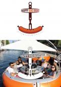 Logo # 1049096 voor Ontwerp een origineel logo voor het nieuwe BBQ donuts bedrijf Happy BBQ Boats wedstrijd