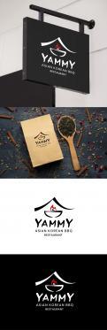 Logo # 1055962 voor ontwerp een horeca logo voor een nieuw te openen asian korean bbq restaurant wedstrijd