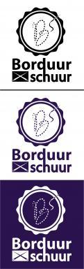 Logo # 1126691 voor Borduurschuur wedstrijd