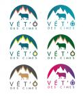 Logo design # 1106157 for Logo for a veterinary practice specialized in large animals in the french Alps contest