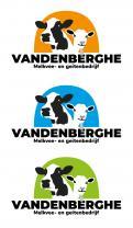Logo # 1066143 voor Logo voor landbouwbedrijf met melkkoeien en melkgeiten wedstrijd