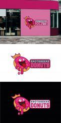 Logo # 1231810 voor Ontwerp een kleurrijk logo voor een donut store wedstrijd