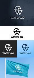 Logo design # 1207639 for logo for water sports equipment brand  Watrflag contest