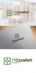 Logo # 1247773 voor Gezocht  Stoer  duurzaam en robuust logo voor pallethandel wedstrijd