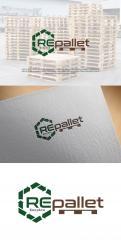 Logo # 1248378 voor Gezocht  Stoer  duurzaam en robuust logo voor pallethandel wedstrijd