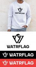 Logo design # 1207467 for logo for water sports equipment brand  Watrflag contest