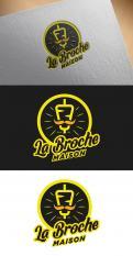 Logo design # 1217857 for LOGO  La Broche Maison  contest