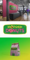 Logo # 1231303 voor Ontwerp een kleurrijk logo voor een donut store wedstrijd
