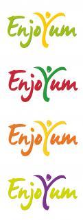 Logo # 340584 voor Logo Enjoyum. A fun, innovate and tasty food company. wedstrijd