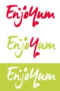 Logo # 338684 voor Logo Enjoyum. A fun, innovate and tasty food company. wedstrijd