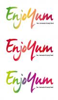Logo # 337446 voor Logo Enjoyum. A fun, innovate and tasty food company. wedstrijd