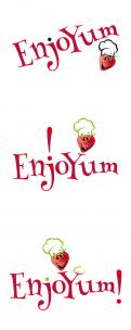 Logo # 338215 voor Logo Enjoyum. A fun, innovate and tasty food company. wedstrijd
