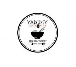 Logo # 1089389 voor ontwerp een horeca logo voor een nieuw te openen asian korean bbq restaurant wedstrijd