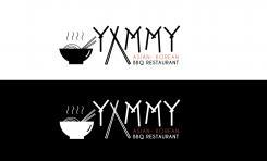 Logo # 1089391 voor ontwerp een horeca logo voor een nieuw te openen asian korean bbq restaurant wedstrijd