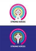 Logo # 1105147 voor Ontwerp logo Europese conferentie van christelijke LHBTI organisaties thema  'Strong Voices' wedstrijd